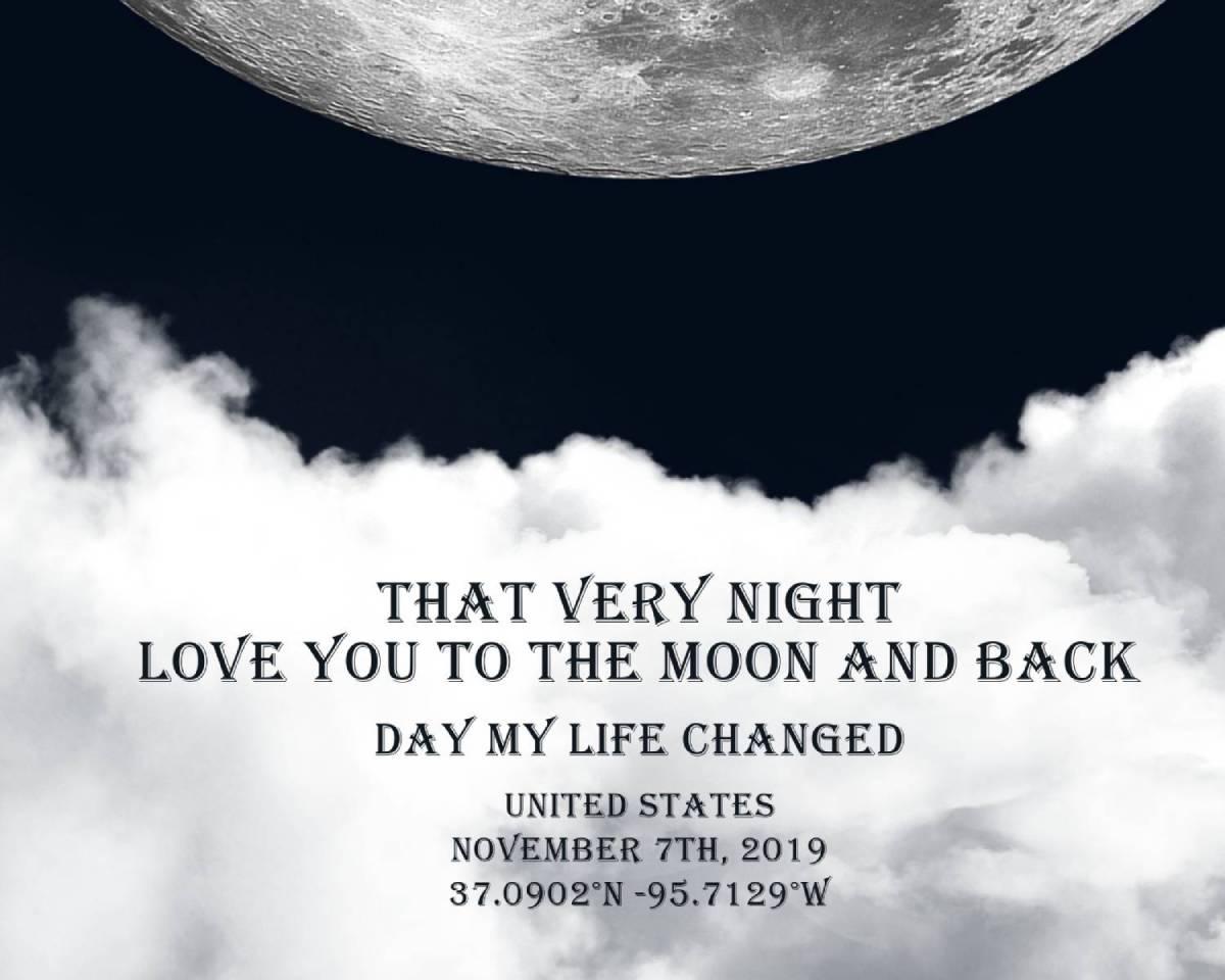 That very night - Moon Trip Theme Font