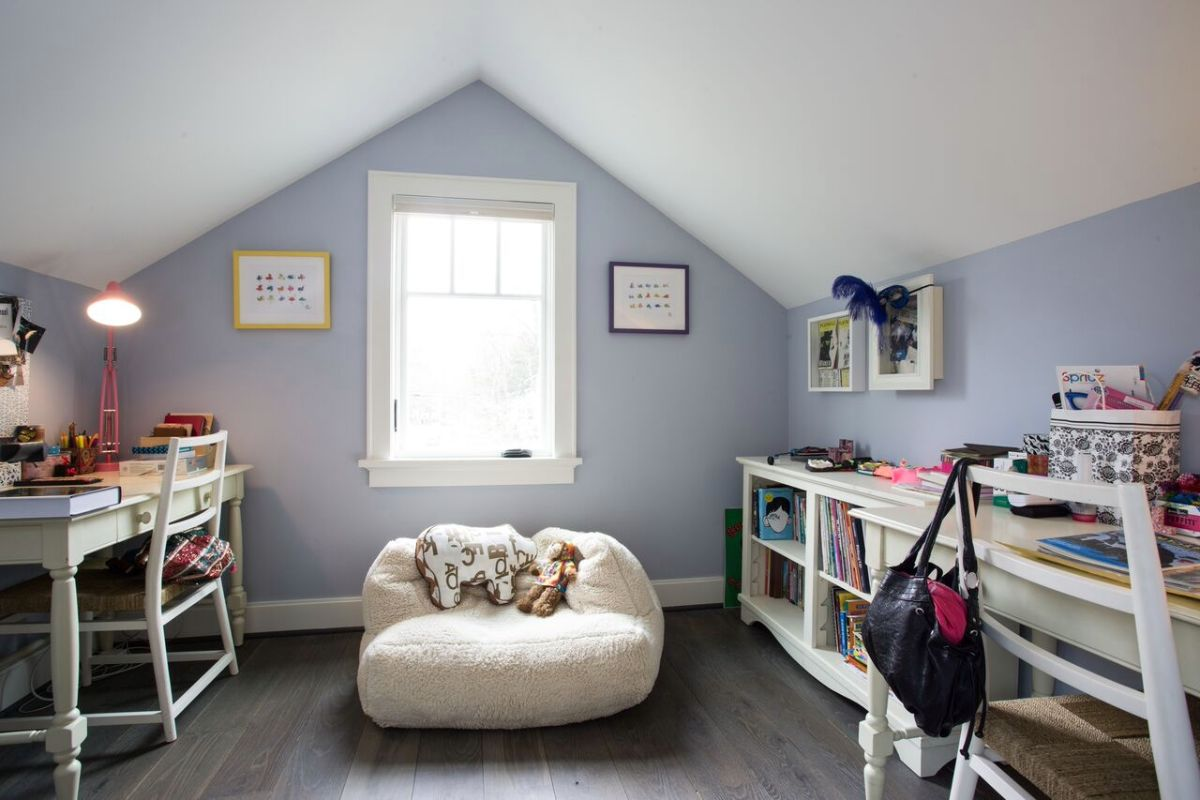 Room with Subtle Color