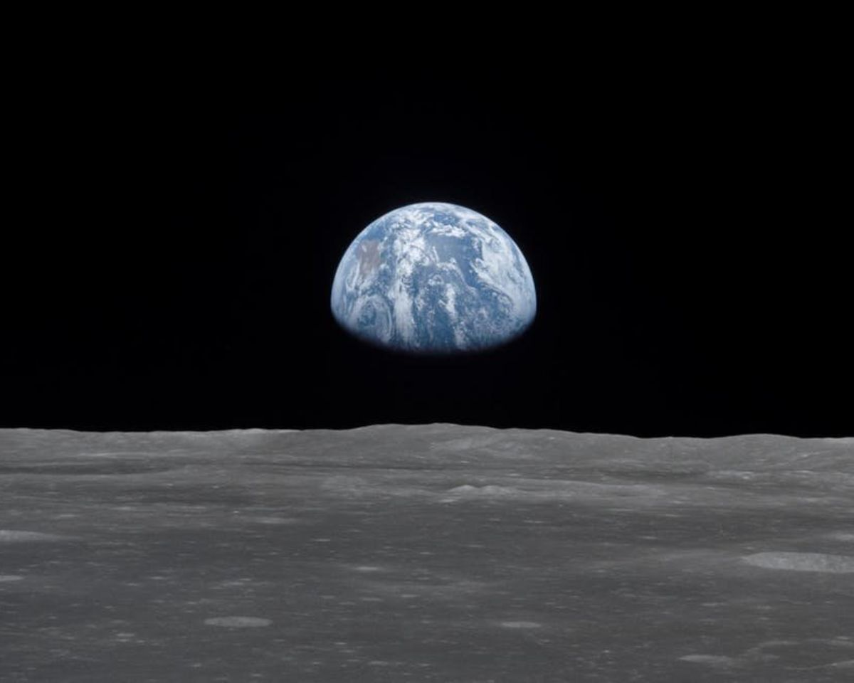Photo taken on Apollo 11