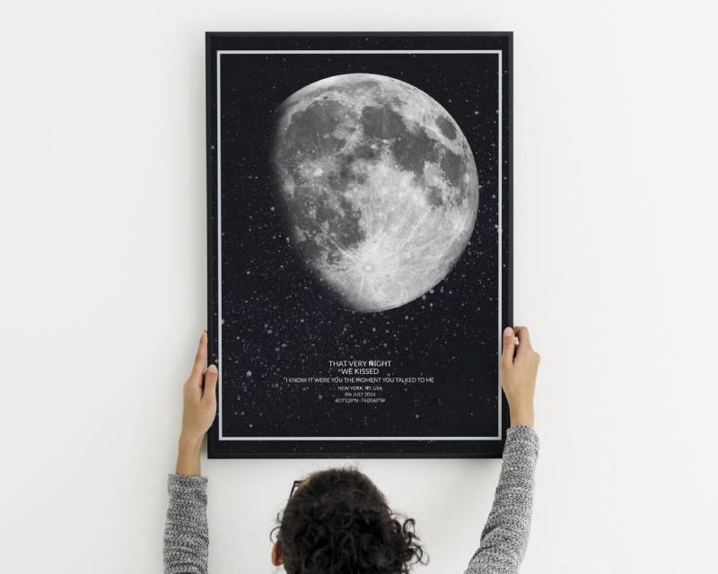 THAT VERY NIGHT Moon Print