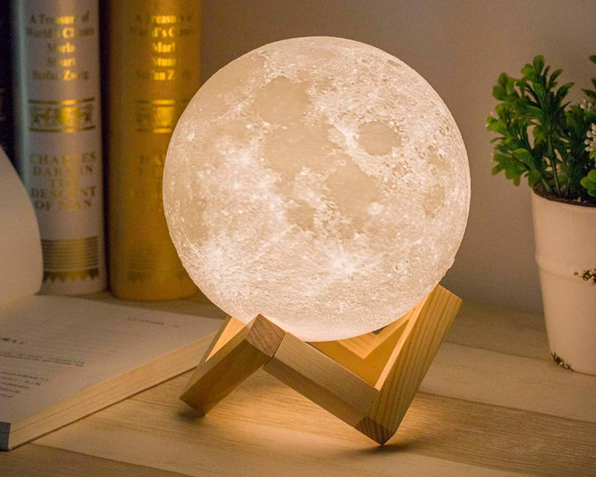 The moon does not emit light, but it does reflect the light of the sun. Did you know that you can buy moon-shaped lamps that look like the moon and emit a soft glow? You could even look for lampshades with cut-out moons and stars across them. These are the perfect addition to the bedroom, and they're such a unique piece to add to the home in general. Emit that soft glow everywhere you are!
