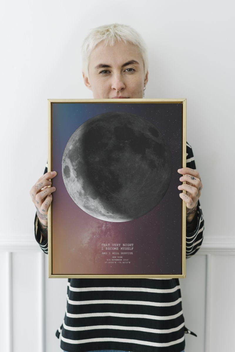 Pride - Moon Print