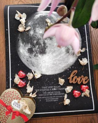 Remembering the beginning of your new adventure together. ...  📷  @mappola_ ...#thatverynightstudio #thatverynight #moonface #moonphase #memoriescherish #interior #thatveryinterior  #valentines